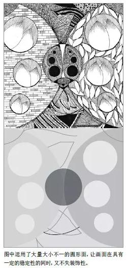 诠释黑白装饰画点线面